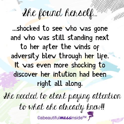 she-found-herslef