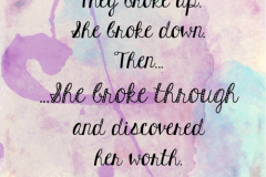 She-broke-through