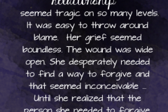 forgive-herself